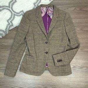Altea Cashmere Wool Blend Blazer Size 44(8)